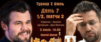 Шахматы. Тур чемпионов - 7 день 02.07.2021 прямая трансляция